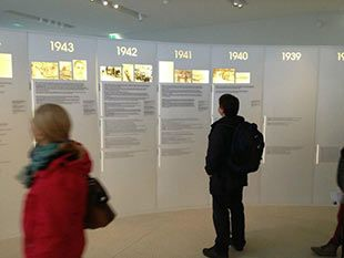 Drancy - Exhibition in the Memorial