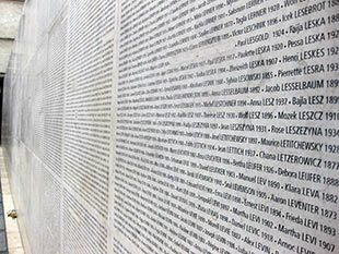 Paris - Wall of Names